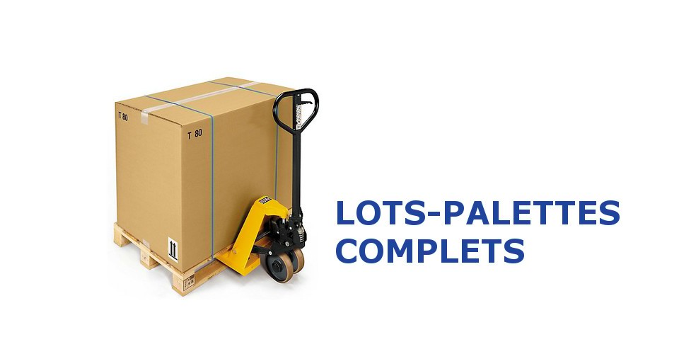 Transports Lots-Complets-Palettes